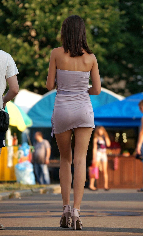 Фотоохота за девушками на улицах эротический