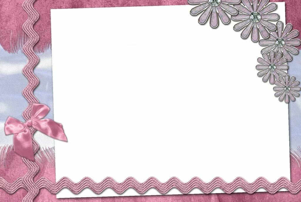 Рамки открытки девушка, днем учителя