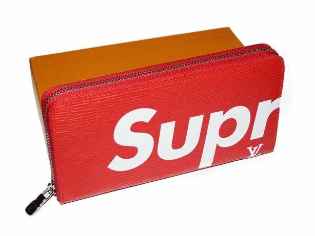 1d73202c869b ... Женское портмоне Supreme от Louis Vuitton. Клатч - Купить Клатч Луи  Виттон В Москве Перейти