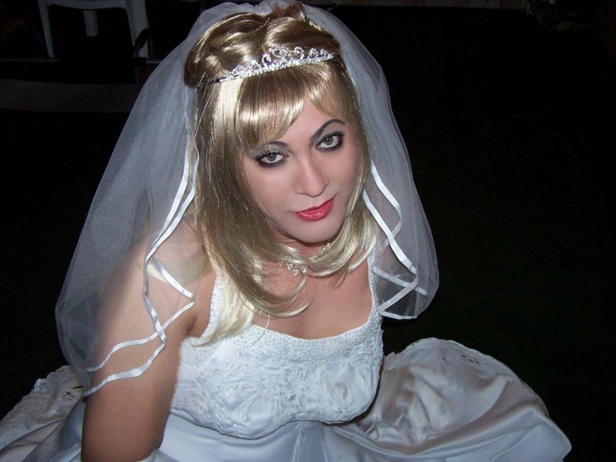 кроссдрессеры свадьба видео