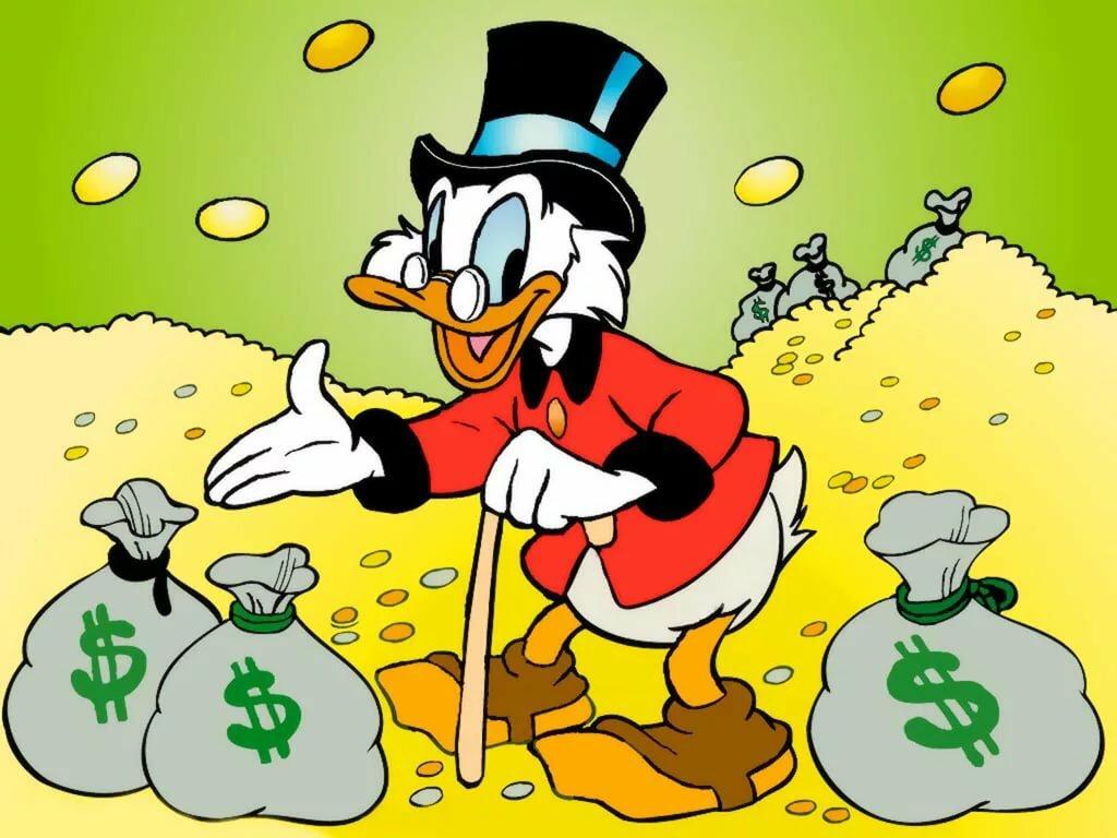 Веселые картинки про деньги
