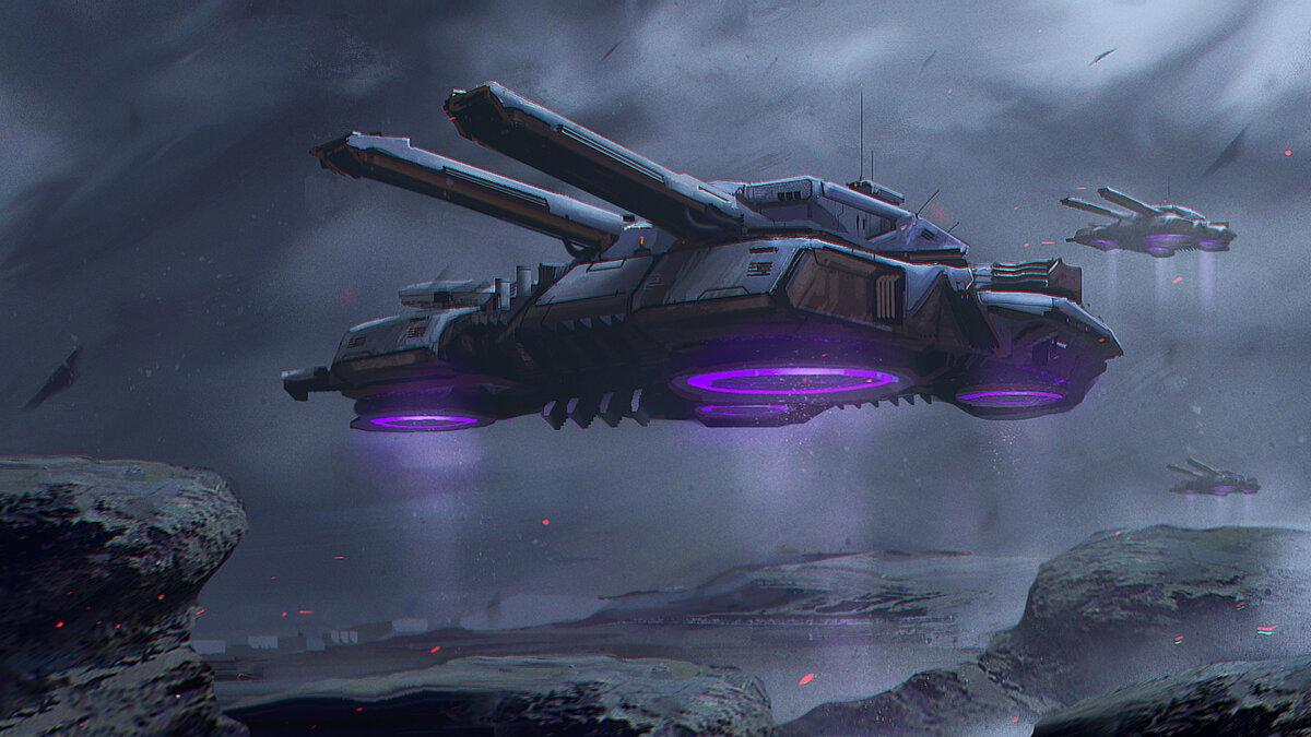 Фантастическая военная техника будущего картинки