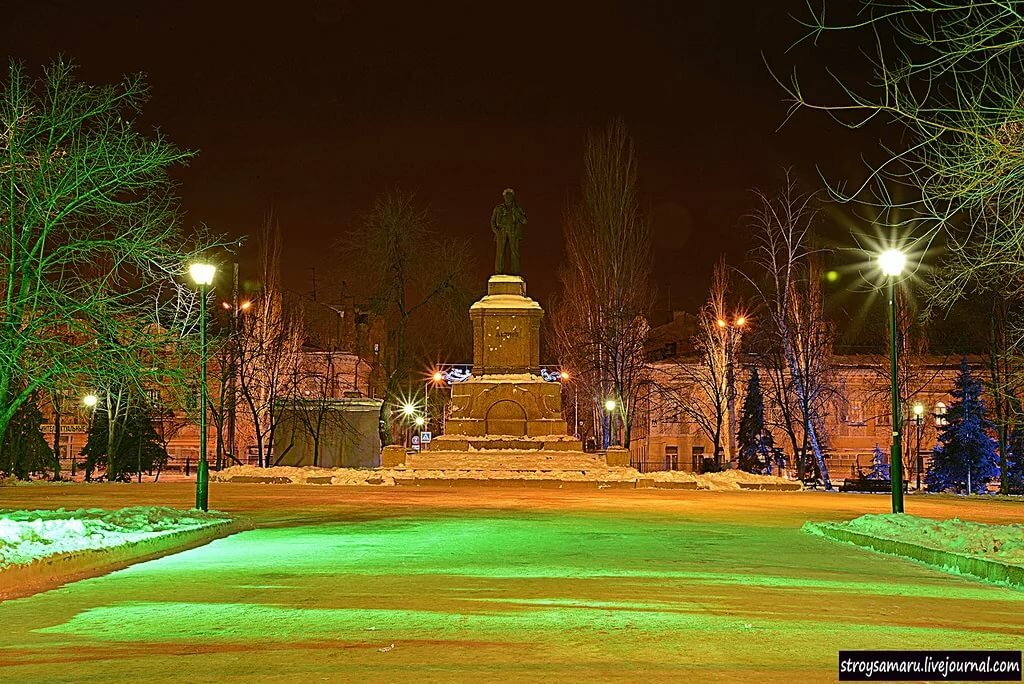 Картинки площади революции в самаре