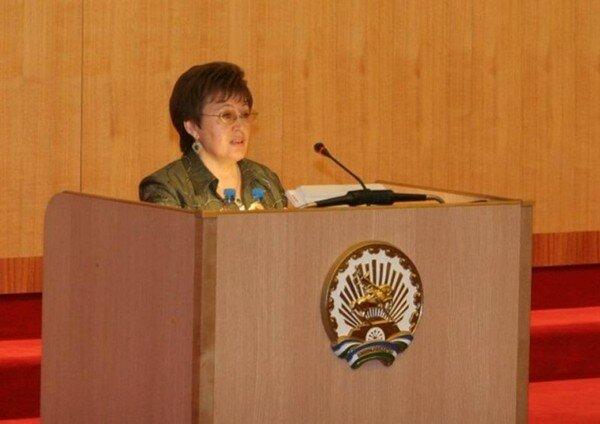Салия Мурзабаева.