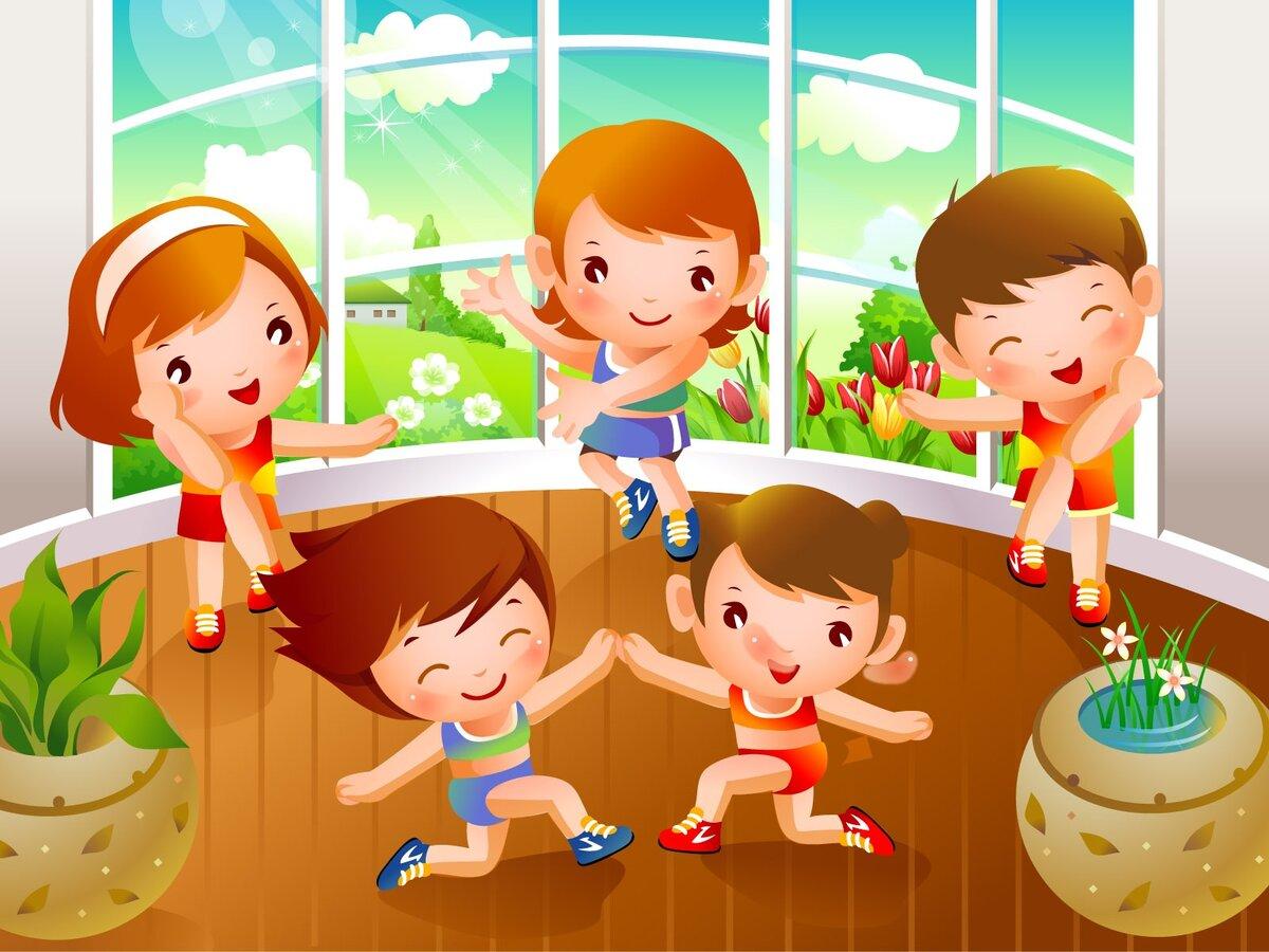 Физкультура и спорт картинки для детского сада, мальчик или
