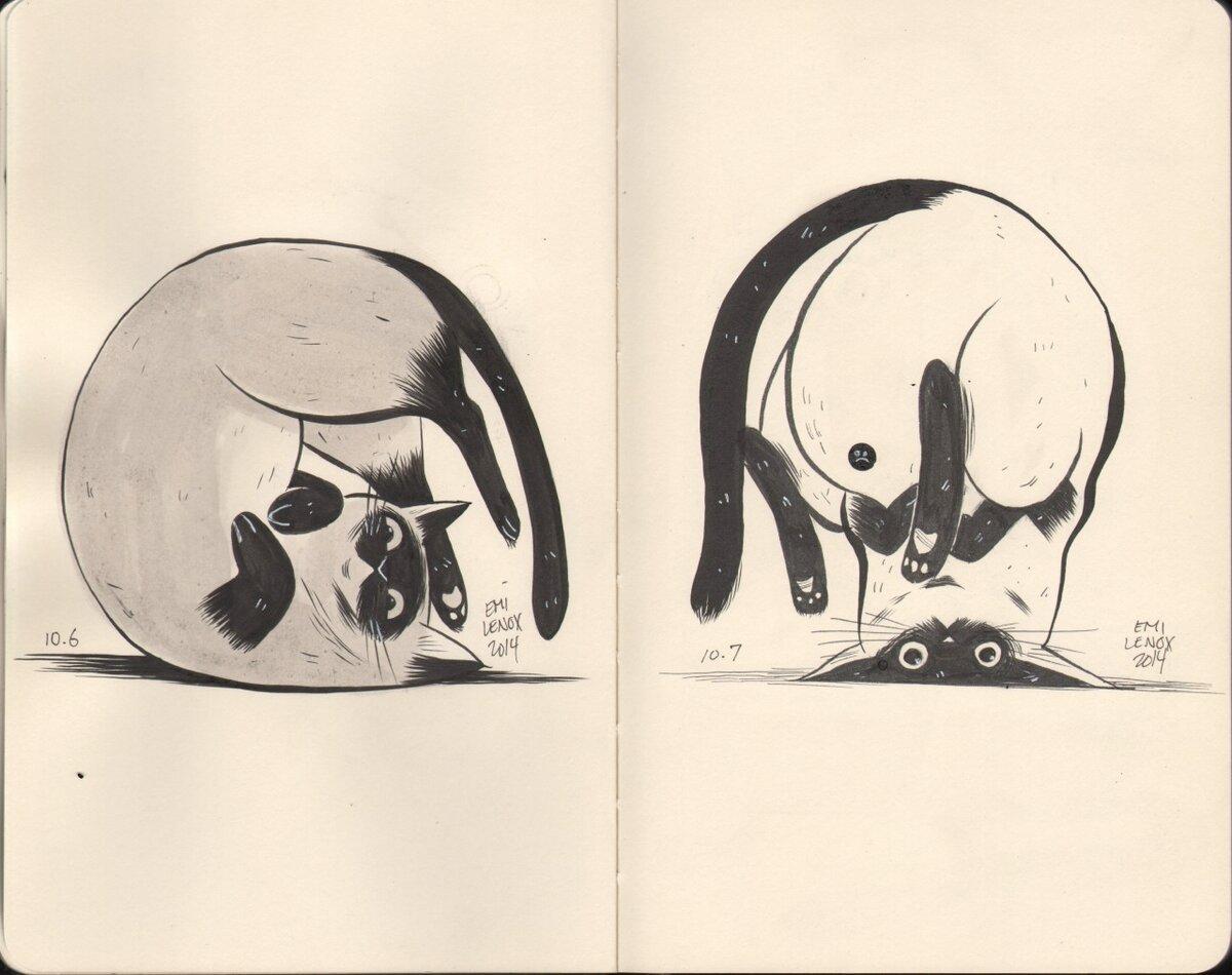 Для ватсапа, картинки для срисовки легкие и прикольные няшные в скетчбук