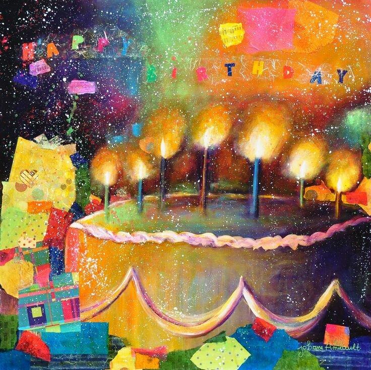 С днем рождения художнику картинки выбору