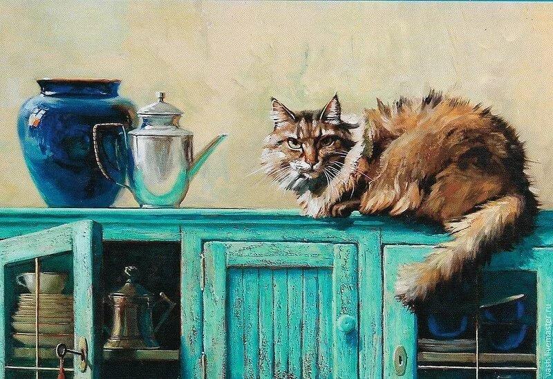 Смешные картинки, открытки художника марии павловой
