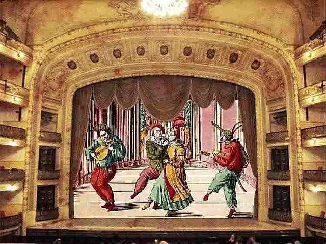 картинки русского театра хранится