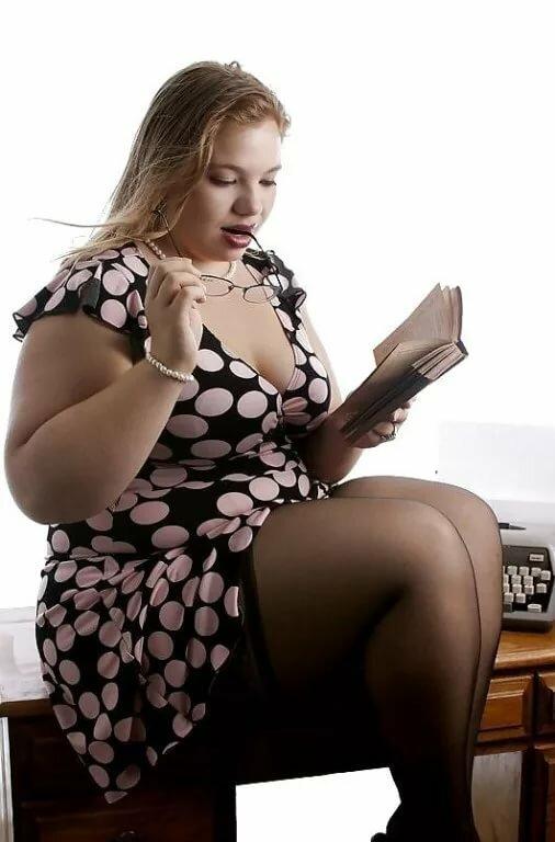Секс с толстыми в чулках — img 12