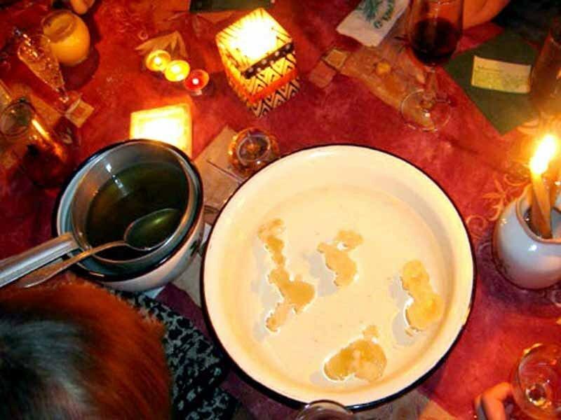 чистка человека по фото вода со свечой
