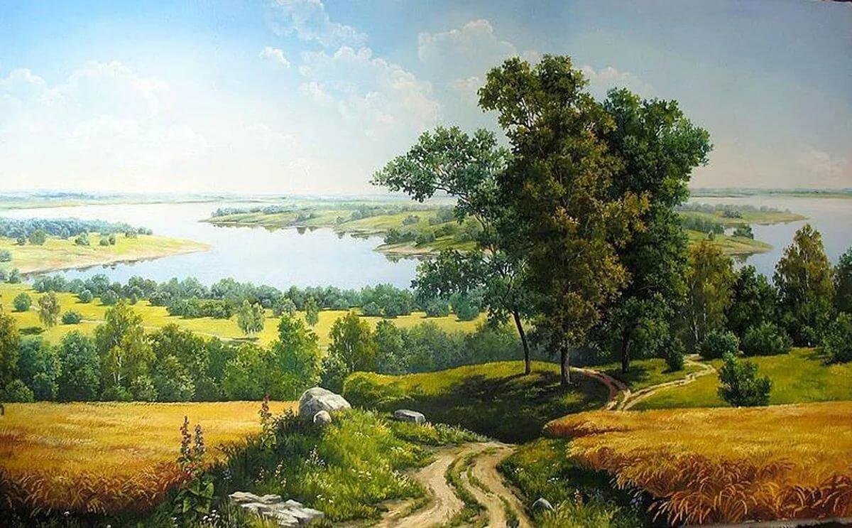 Русские просторы в картинах художников