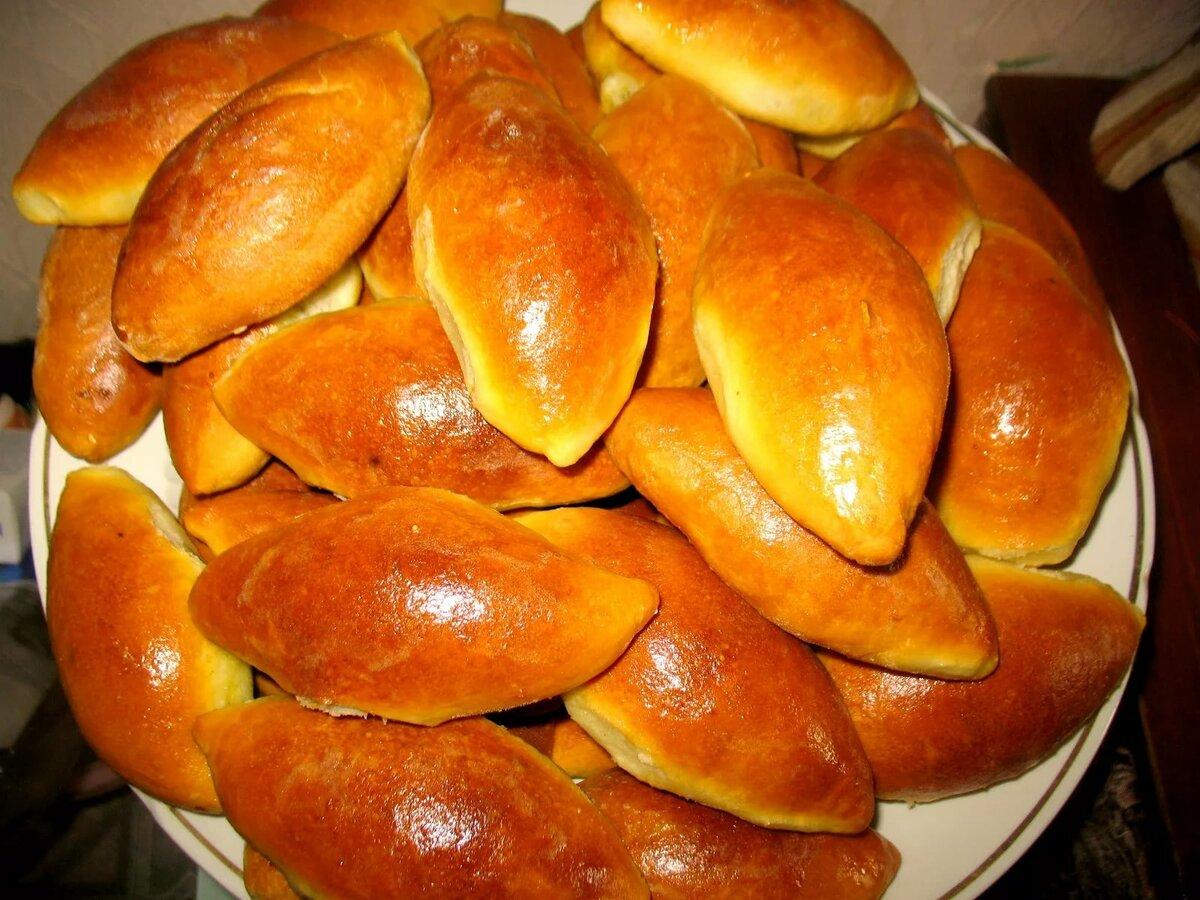 картинка пирожки из печки бой