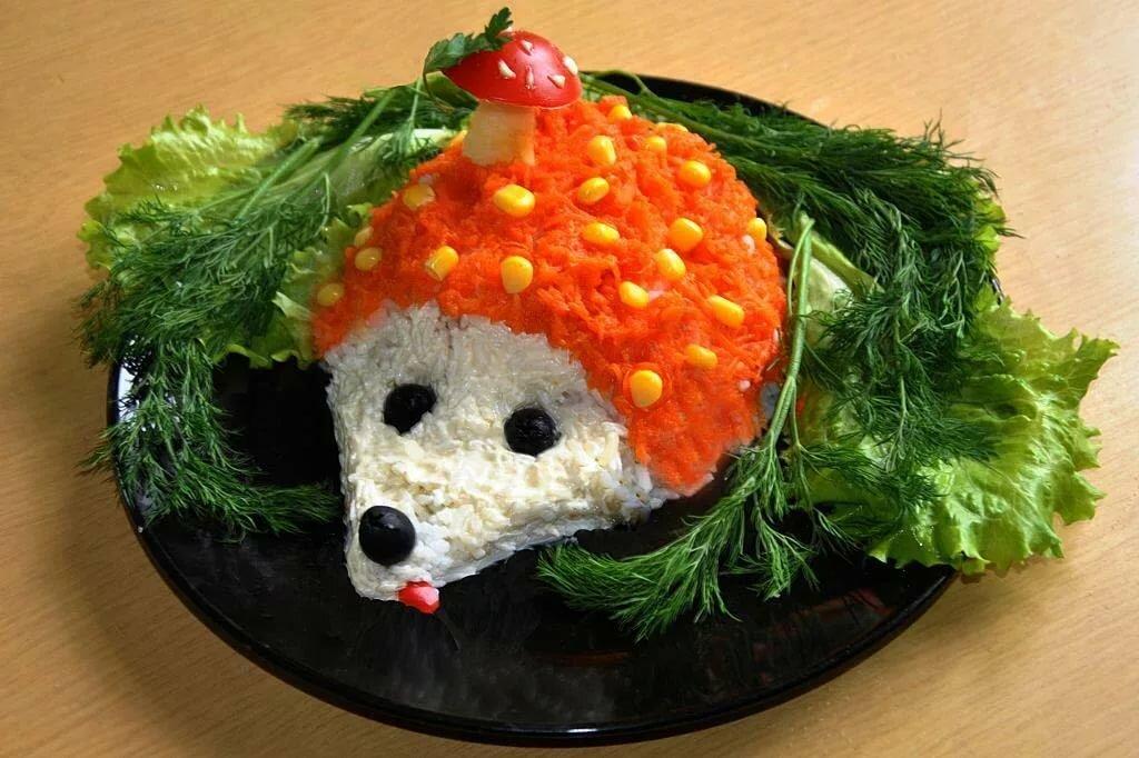 салаты в виде животных рецепты с фото получите информацию