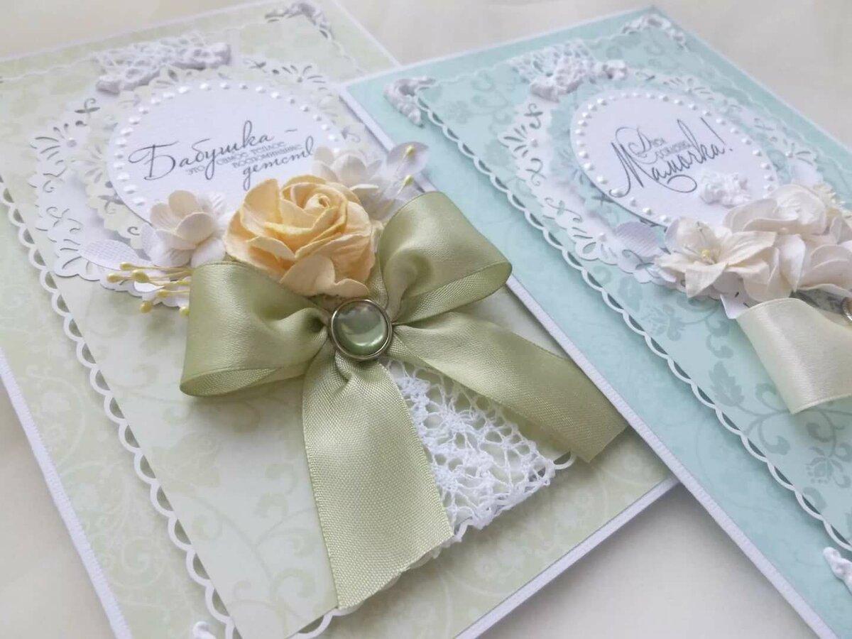 Открытки, мастер класс скрапбукинг открытка для мамы