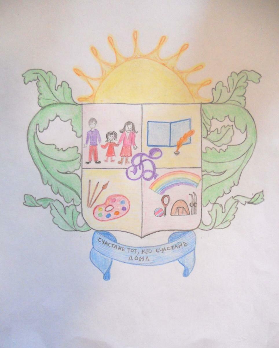 образцы гербов семьи в картинках это