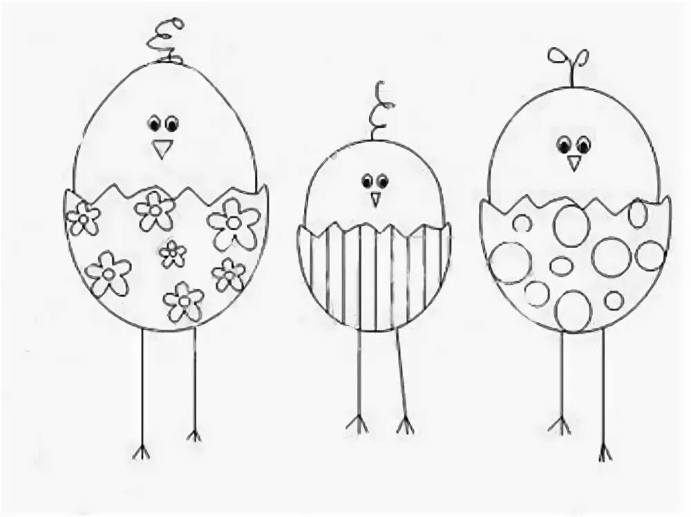 Поздравление шариками, открытка поделка на пасху шаблоны
