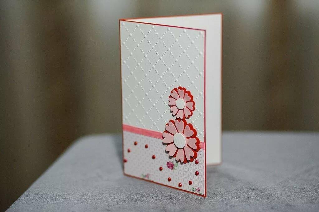 Как самому сделать открытку к 8 марта своими руками, поздравления