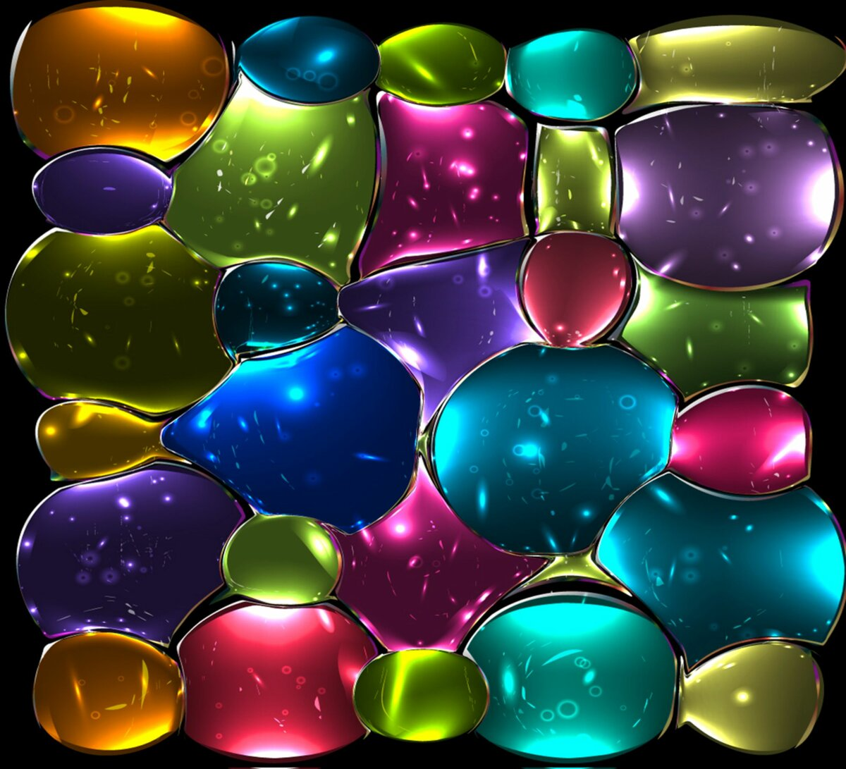 Картинки разноцветные на смартфон