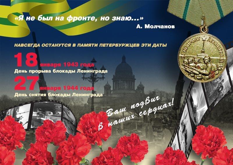 Картинки с днем блокады ленинграда, открытки