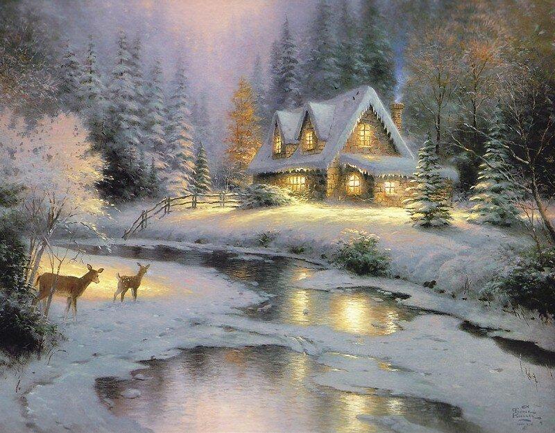 Мишутка сказки, картинки с зимой гифки