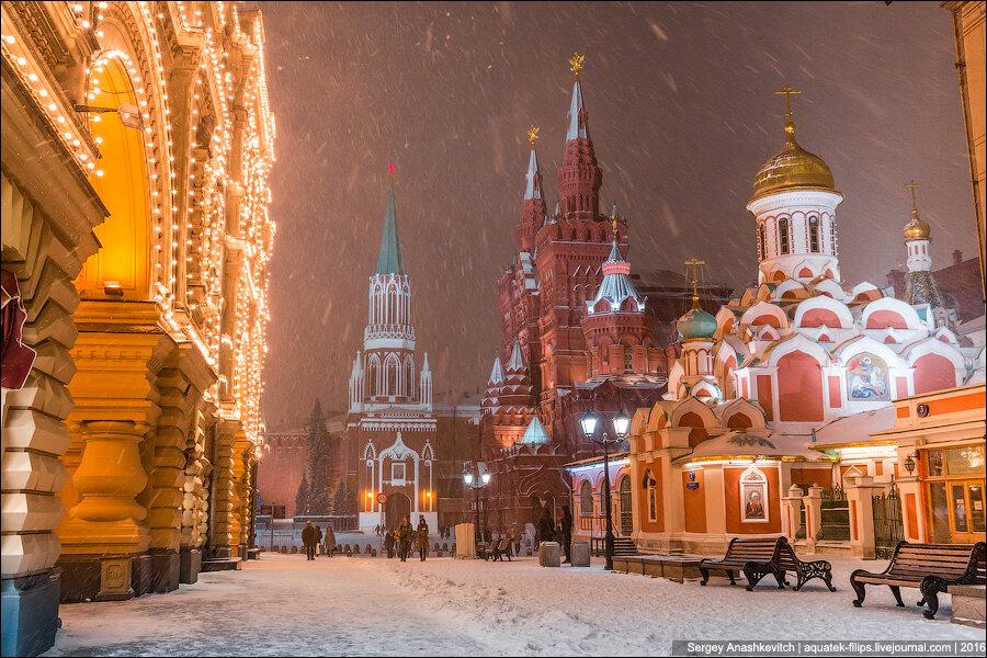 старшей лучшие фото москвы зимой меня