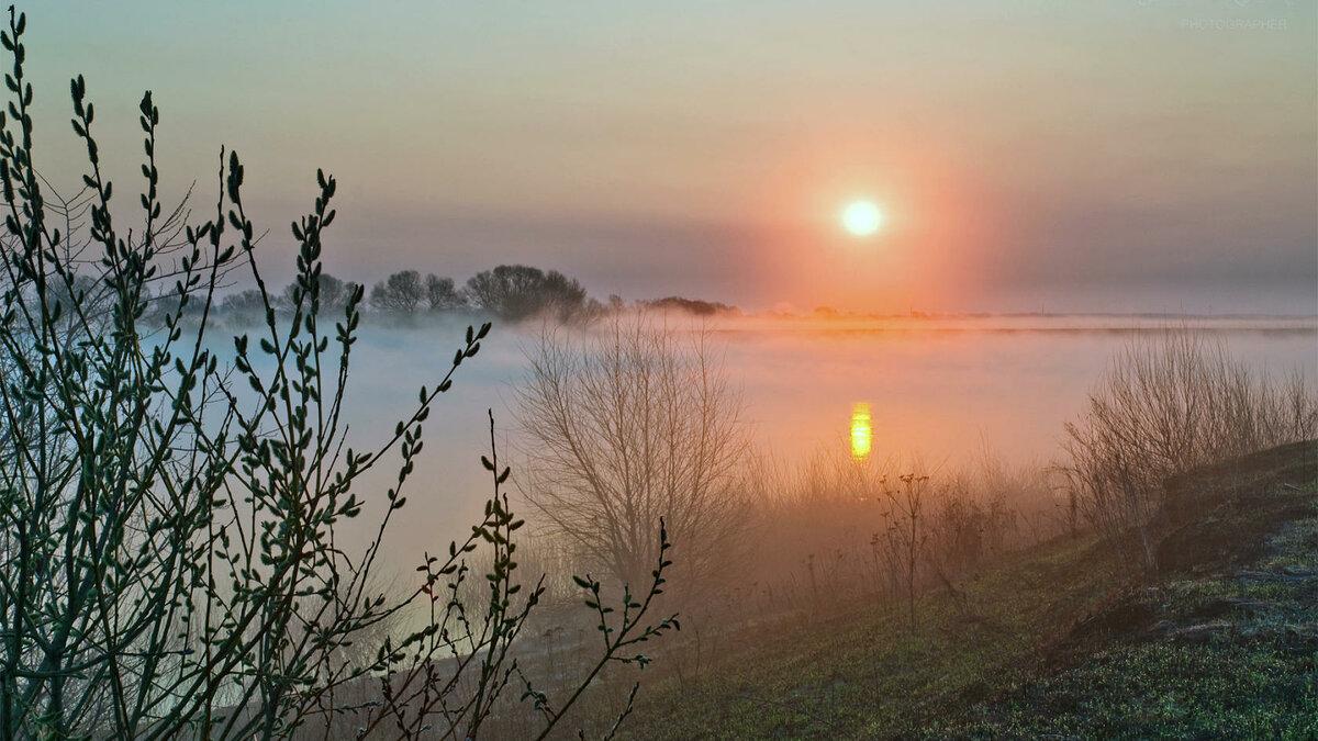 утро весна рассвет картинки вантовом автодорожном