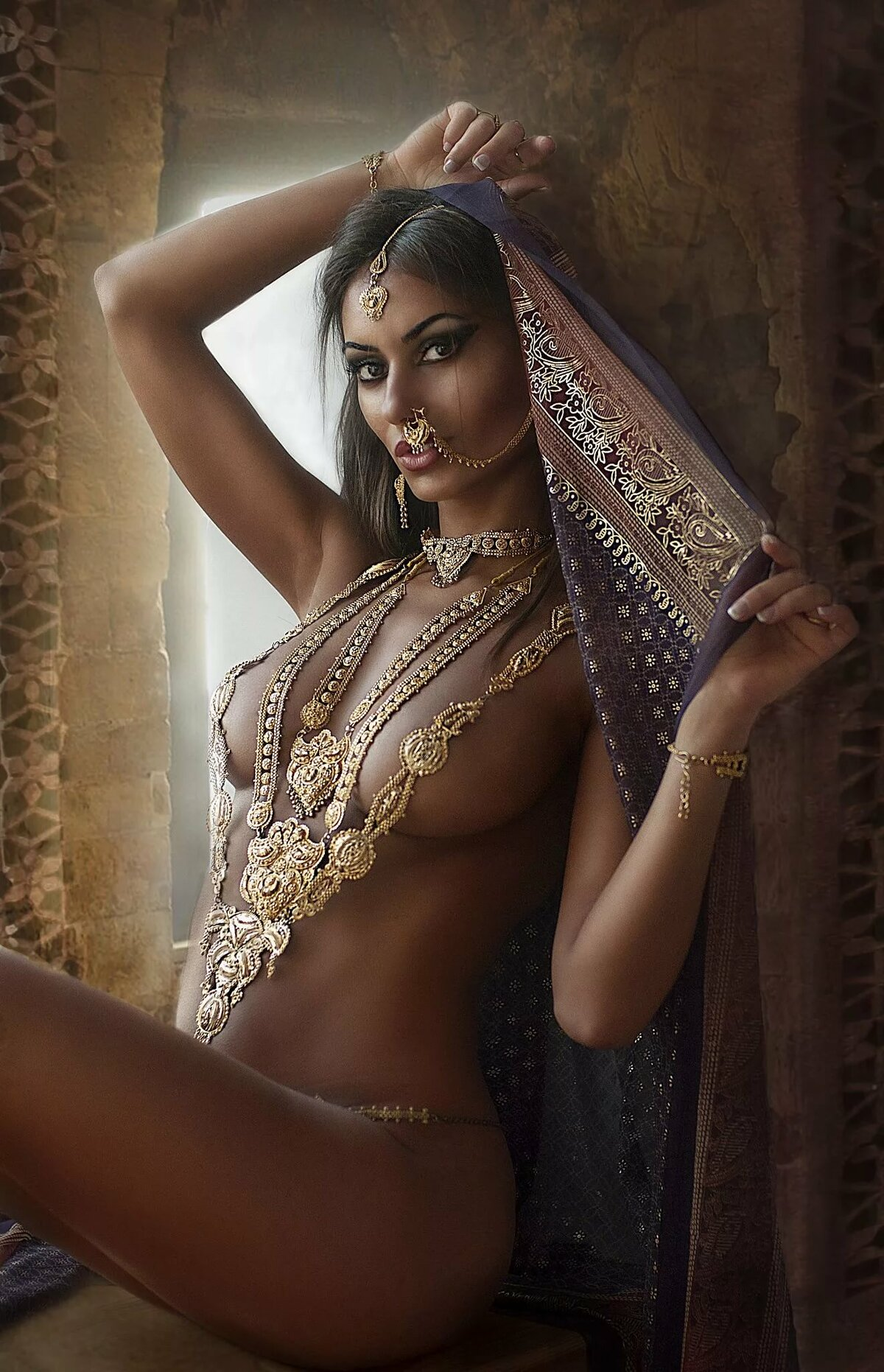 sexy-indian-model-almost-naked