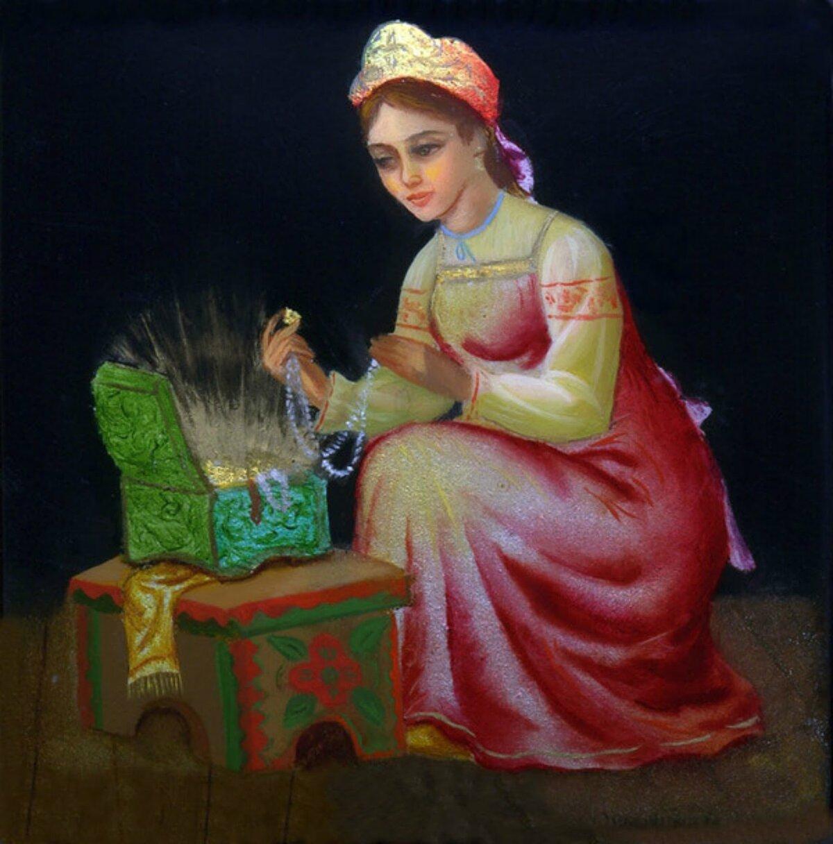 Картинки к сказкам бажова малахитовая шкатулка