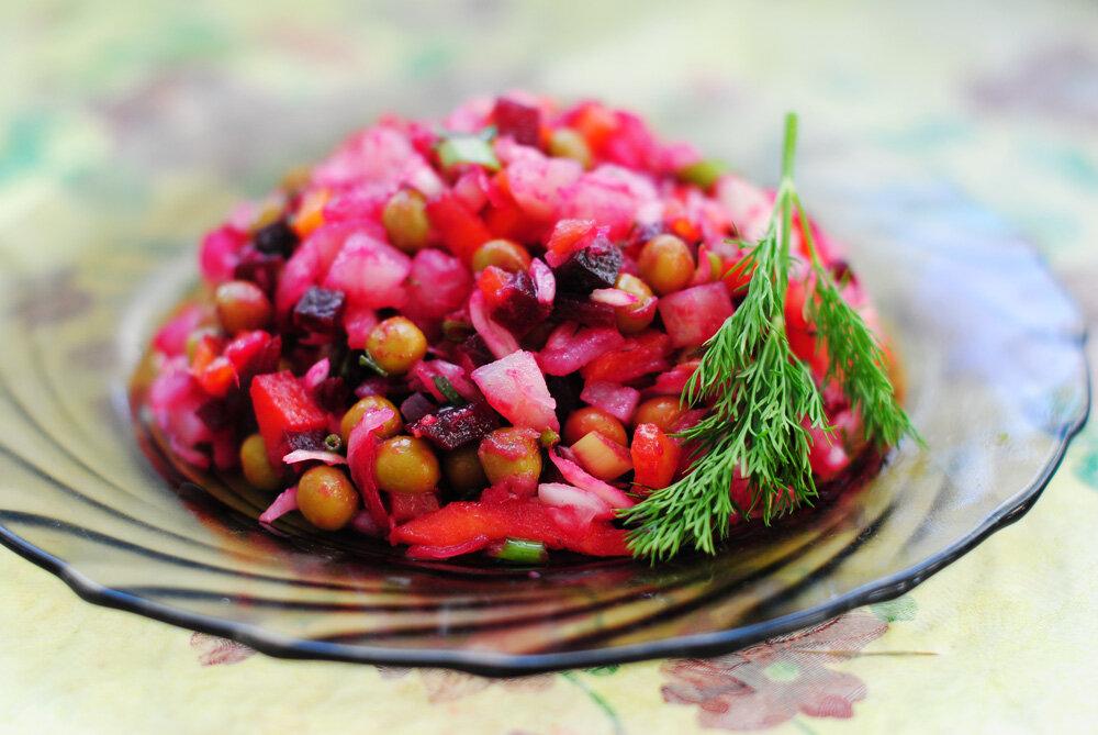 Винегрет классический рецепт с фото пошагово