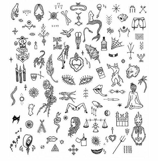 Первокласснику сентября, прикольные маленькие картинки тату