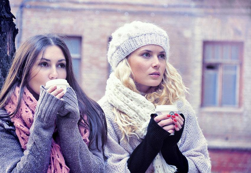 Фото подружек зимой — img 15