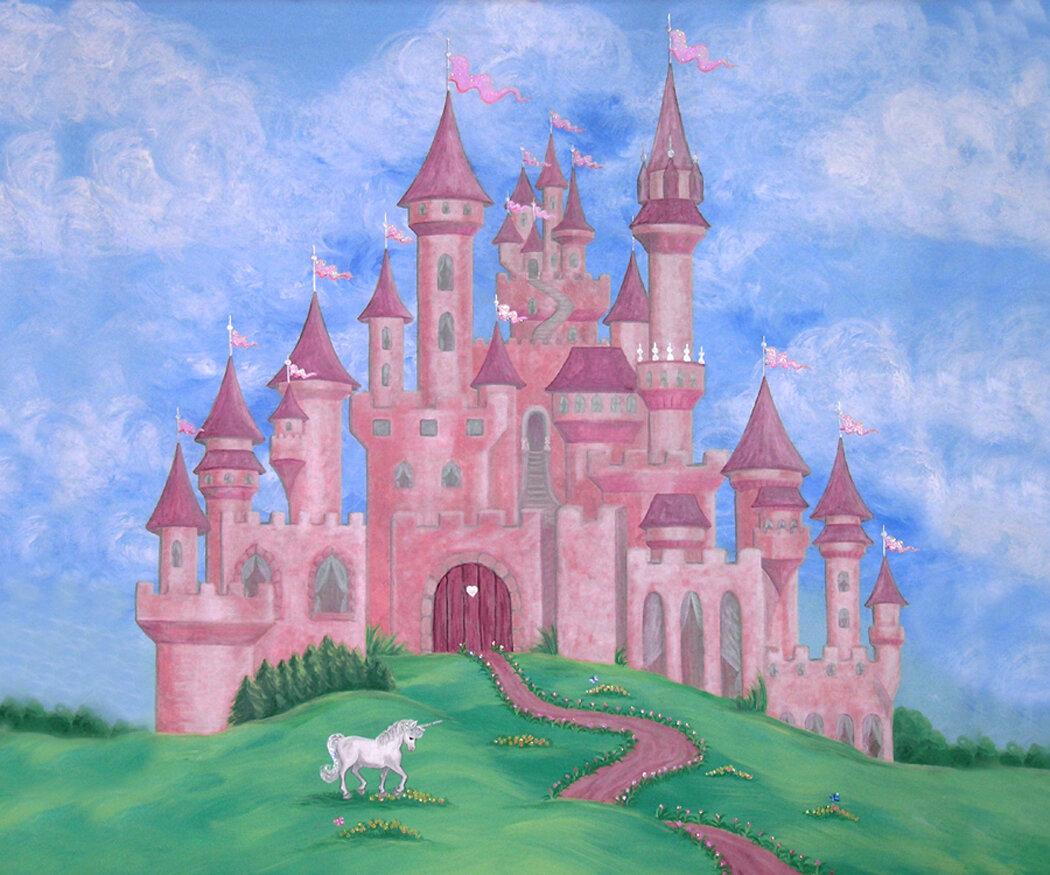 Сказочные замки в картинках