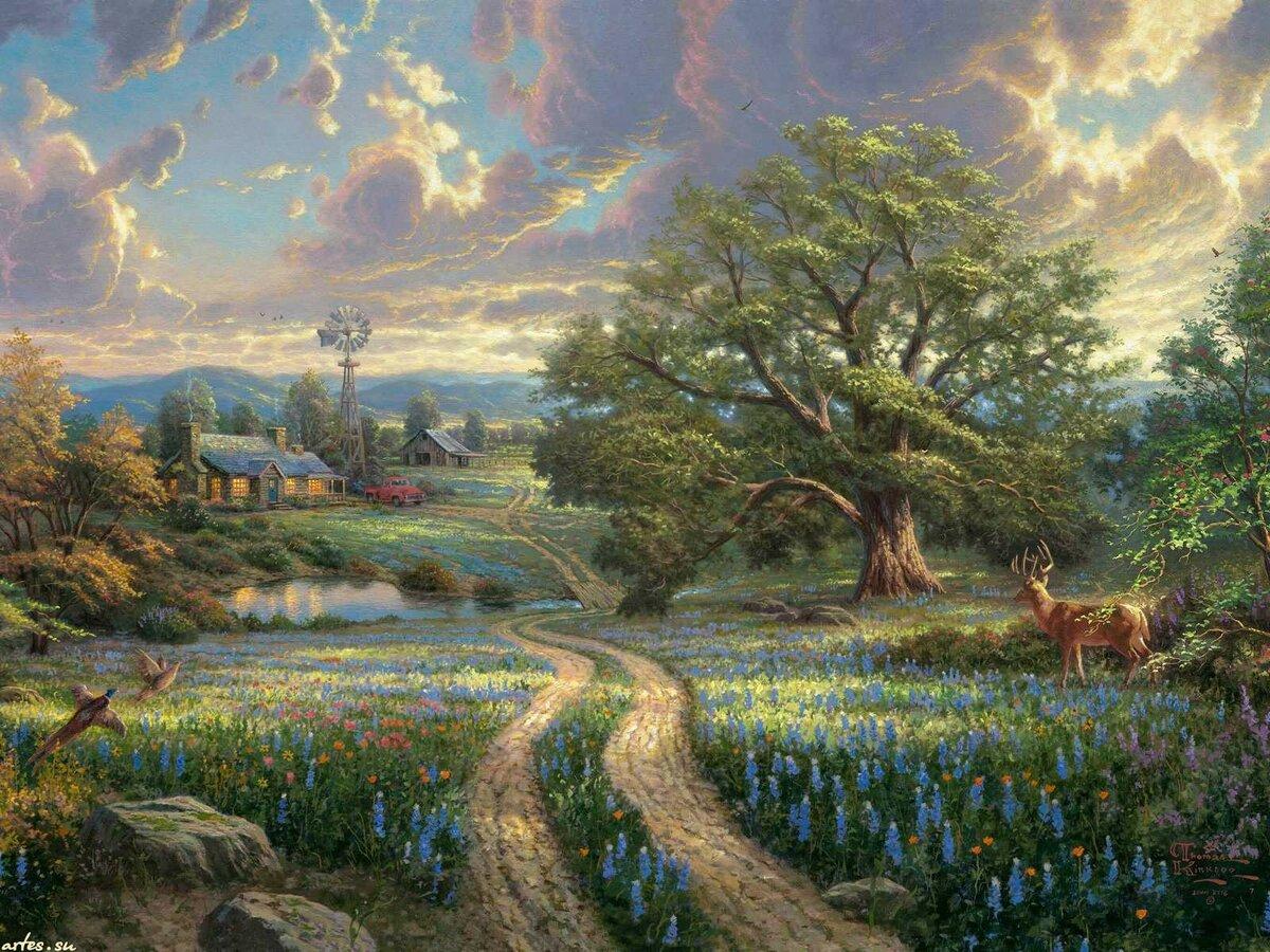 Красивые картинки на рабочий стол картины художников