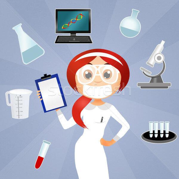 Юбилеем женщине, картинки с днем лаборанта