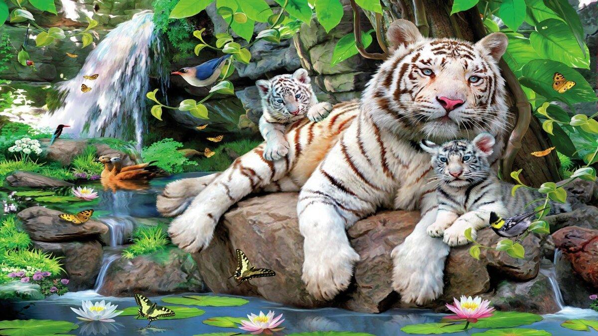 Картинки звери живые