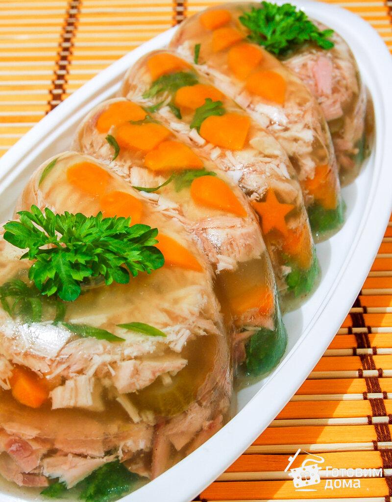Заливное блюду и картинки