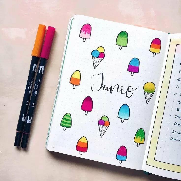 будуарные прикольные рисунки в ежедневник вариант для