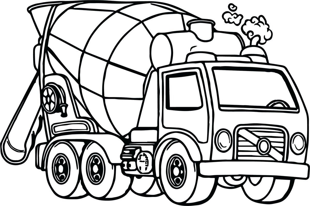 Раскраски онлайн для мальчиков 5 6 лет машинки