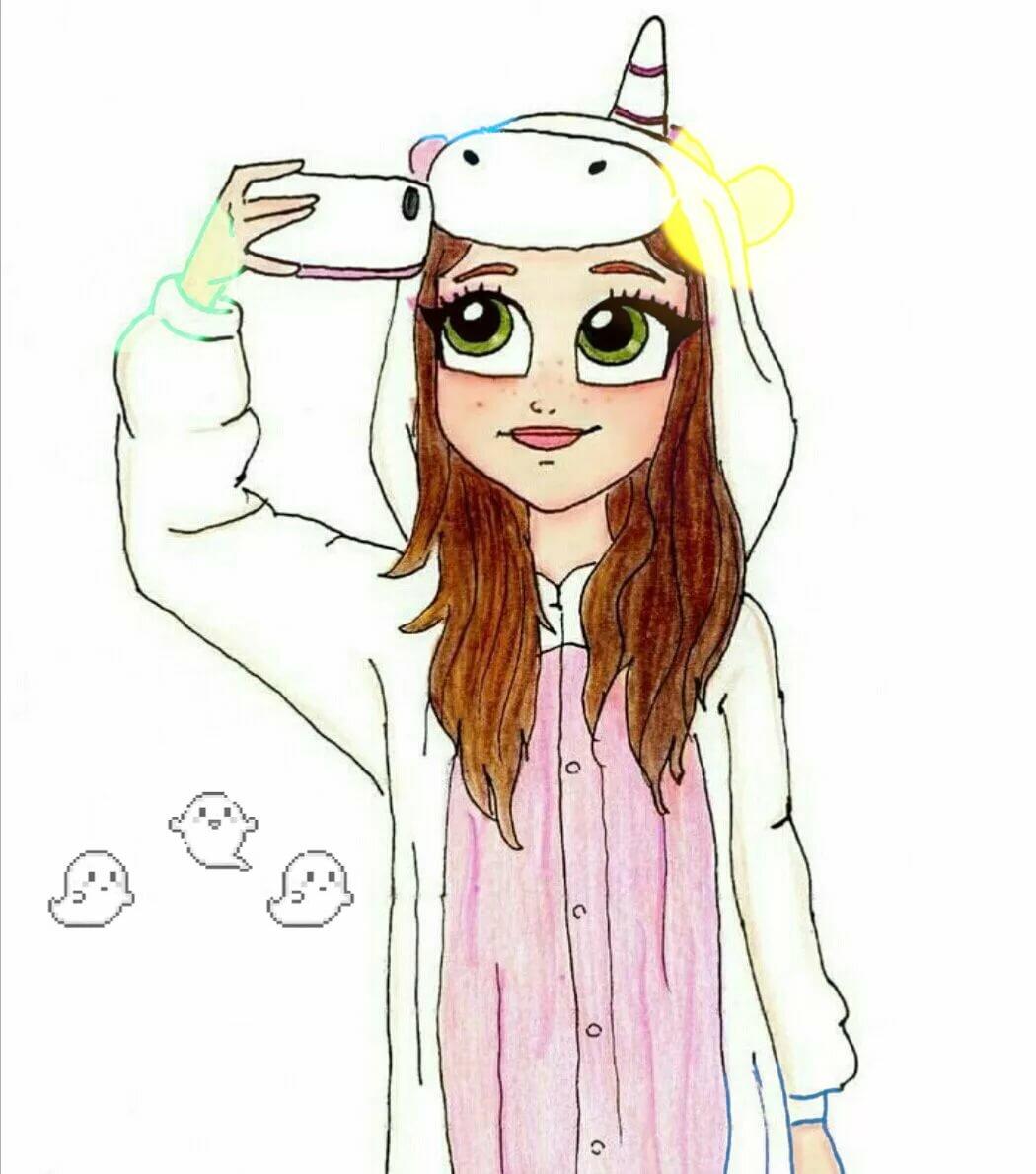 Антон приколами, прикольные рисунки девочек для личного дневника