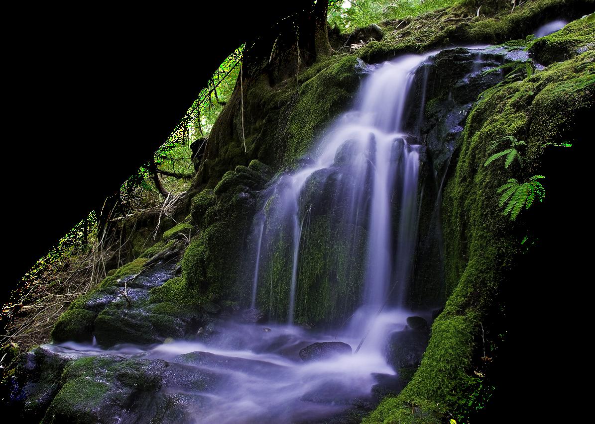 Шприцами, водопад гифка без фона
