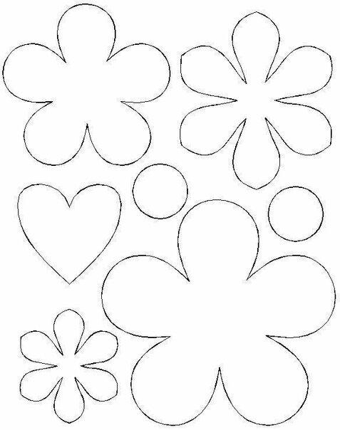 Заказ штука, шаблон открытки цветочек