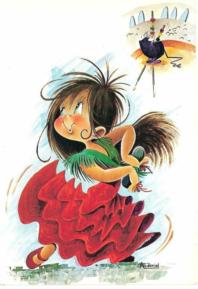 Днюхой подругу, забавные открытки для детей