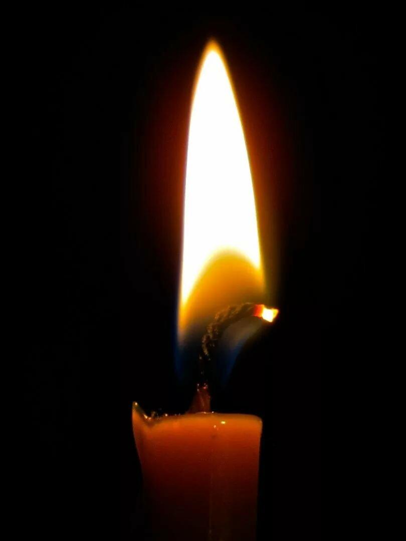 Картинки с горящей свечой, вова тебя очень