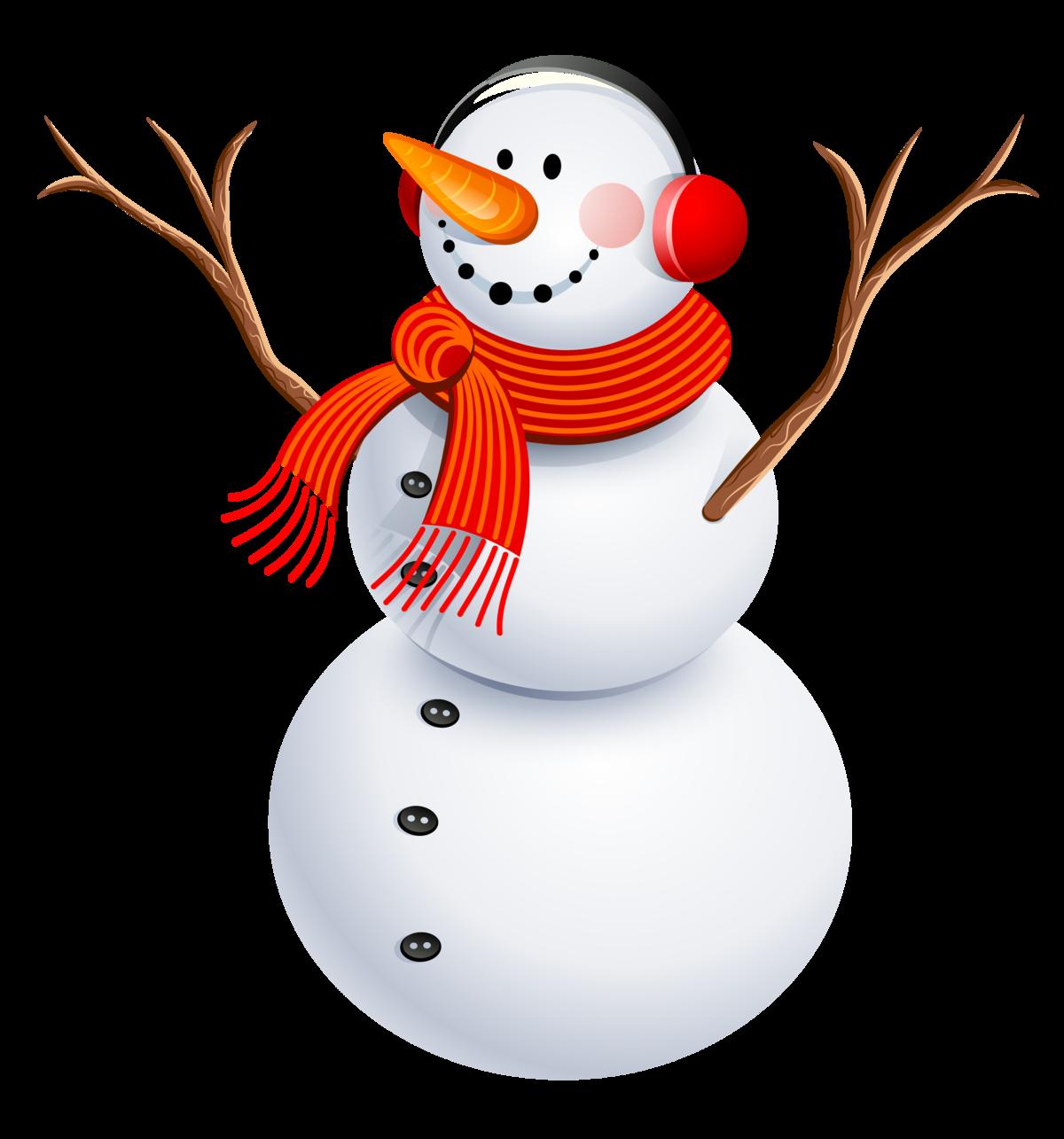 снеговик картинка без фона милая мягкая