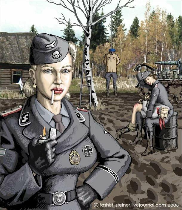 Картинки прикольных фашистов, сделать открытки пасхой