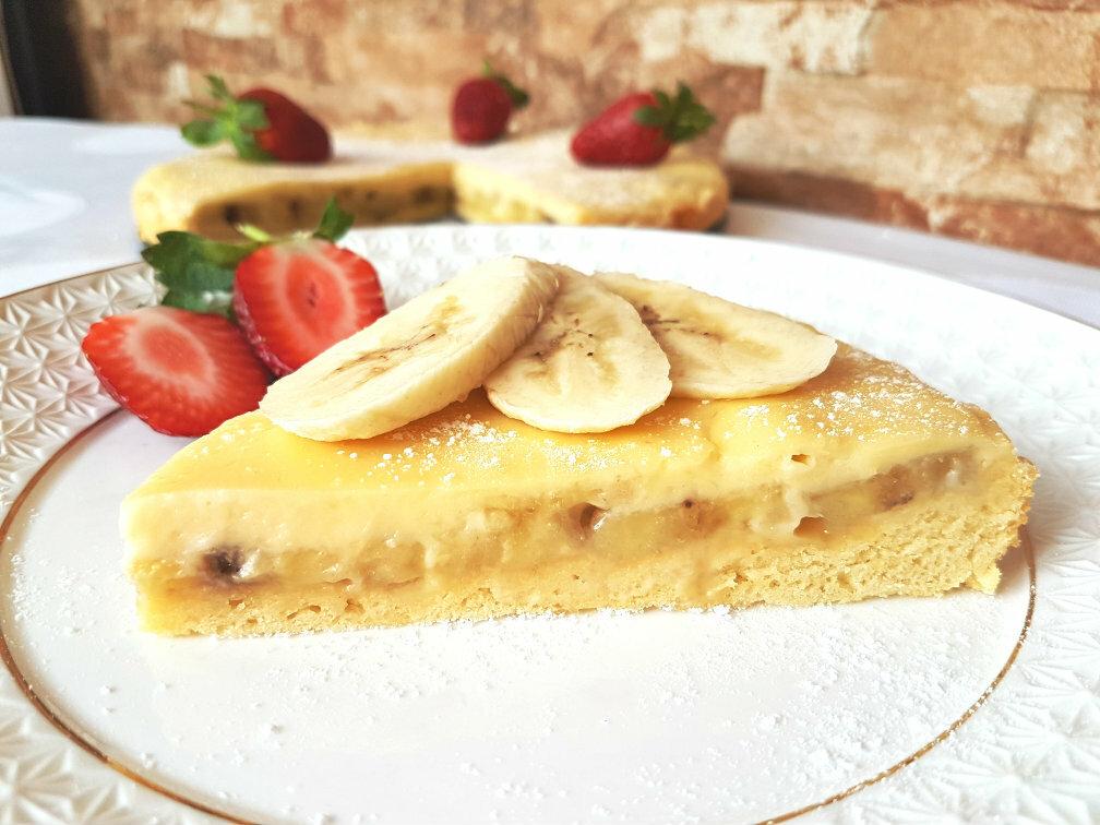 пирог банановый рецепт с фото пошагово