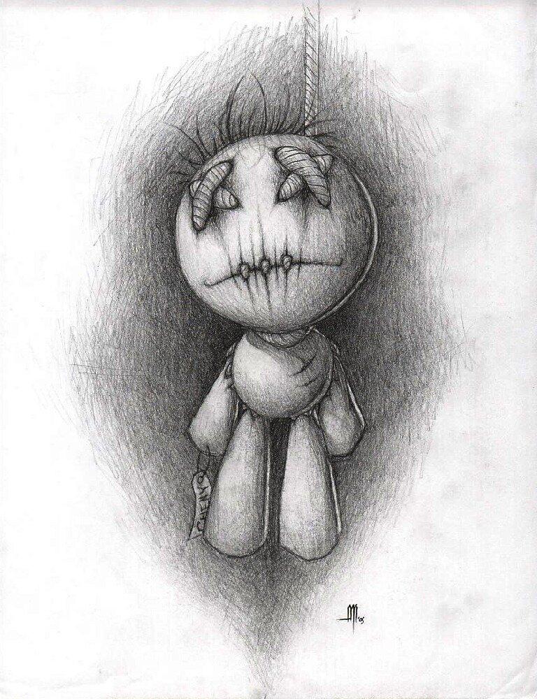 пачках картинки которые можно нарисовать самому и напугать ими друга замковая