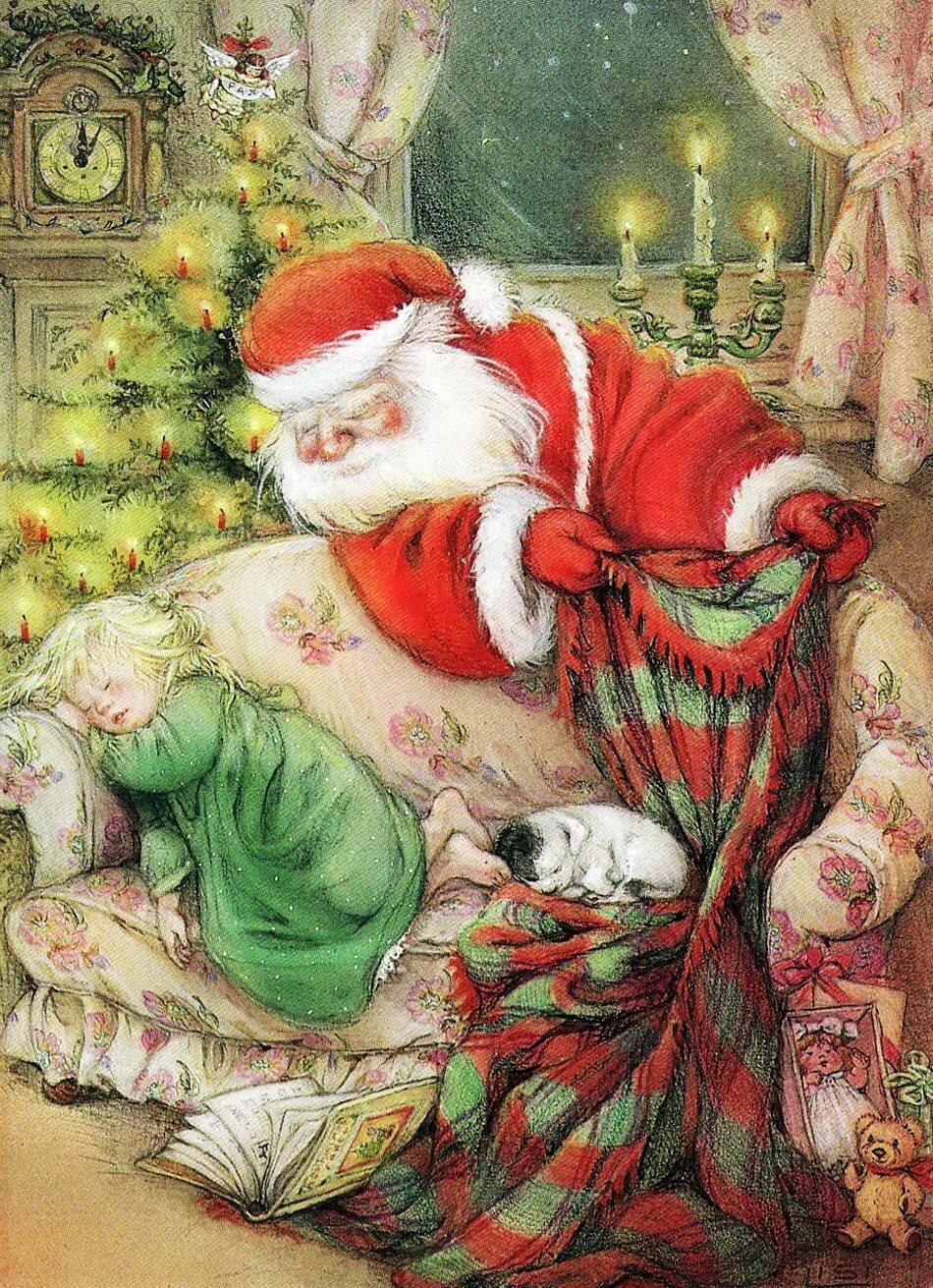 Выпускникам начальной, рождественские детские открытки