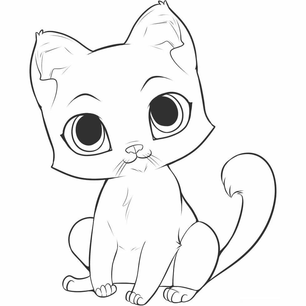 Котята рисунок картинки, статусы контакте картинки